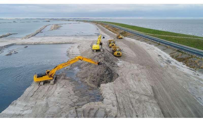Never ever let a Dutch dam break