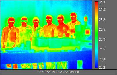 New coating hides temperature change from infrared cameras