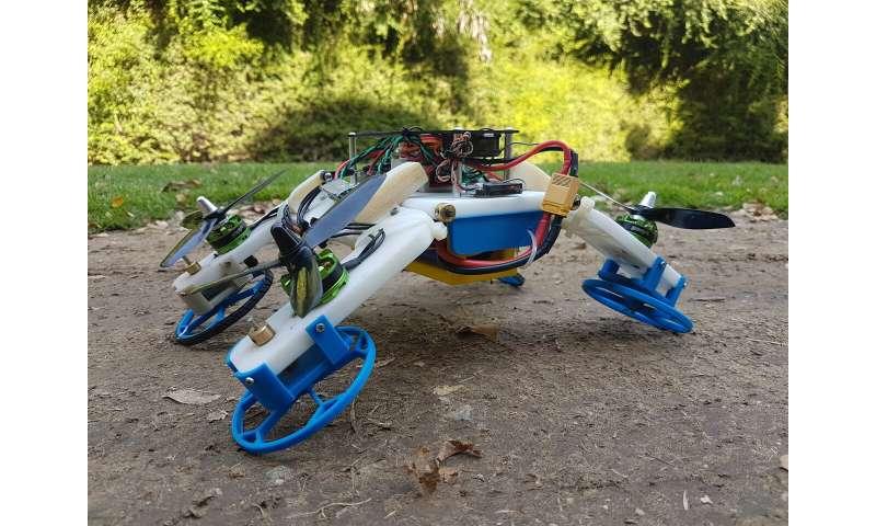 New flying/driving robot developed at Ben-Gurion University of the Negev