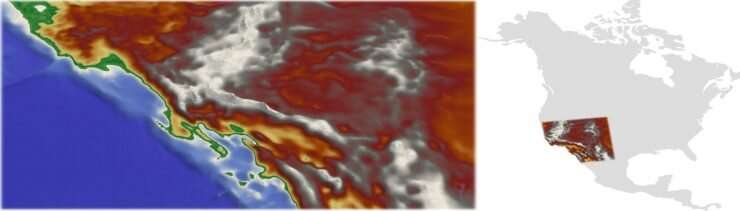 New geologic modeling method explains collapse of ancient mountains in American West