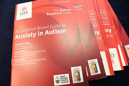 New guide to help manage anxiety in autism
