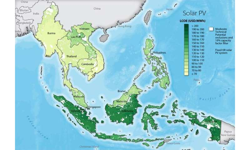 New mapping application visualizes costs of developing renewable energy resources