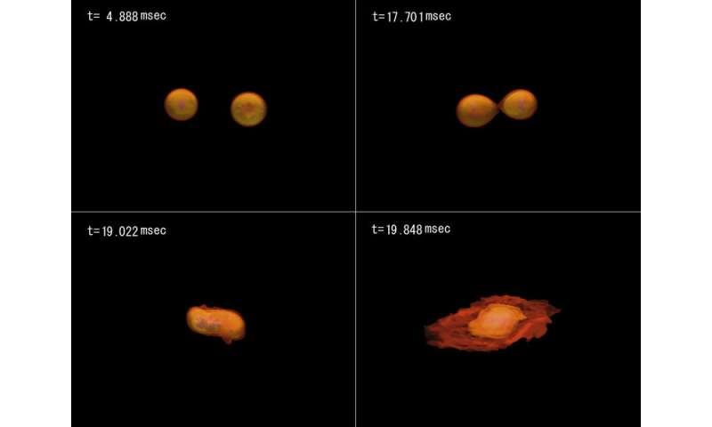 New virtual laboratory for merging neutron stars
