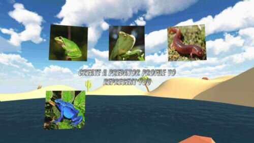 New VR Game to Help Researchers Understand Predator and Prey Movements