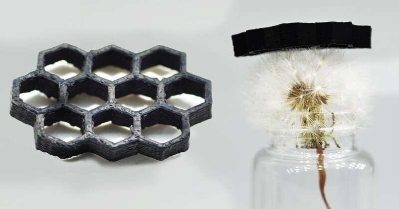 New way to make 3-D carbon components