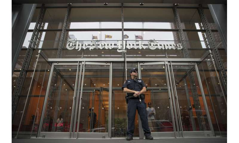 New York Times adds more digital subscribers, shares climb