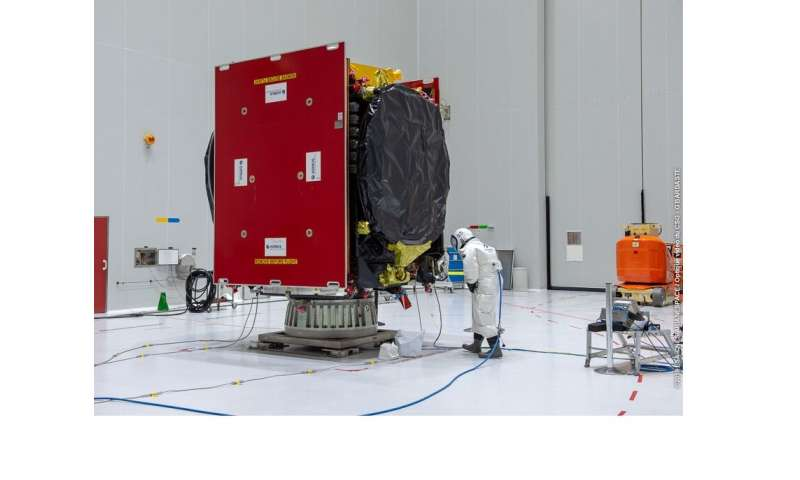 Next satellite in the European Data Relay System is fuelled