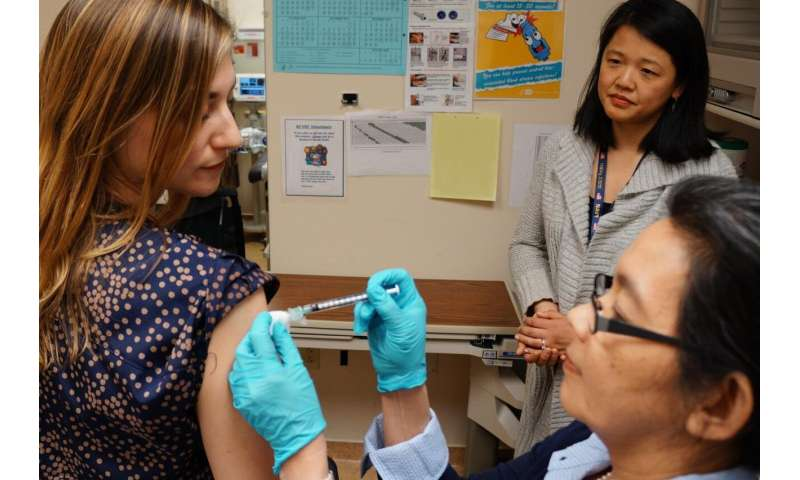 NIH begins first-in-human trial of a universal influenza vaccine candidate