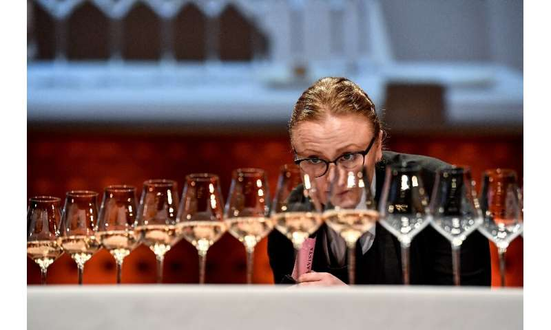Nina Hojgaard Jensen (pictured), from Denmark, placed second at the world's best sommelier competition