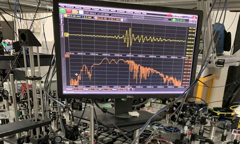 NIST infrared frequency comb measures biological signatures