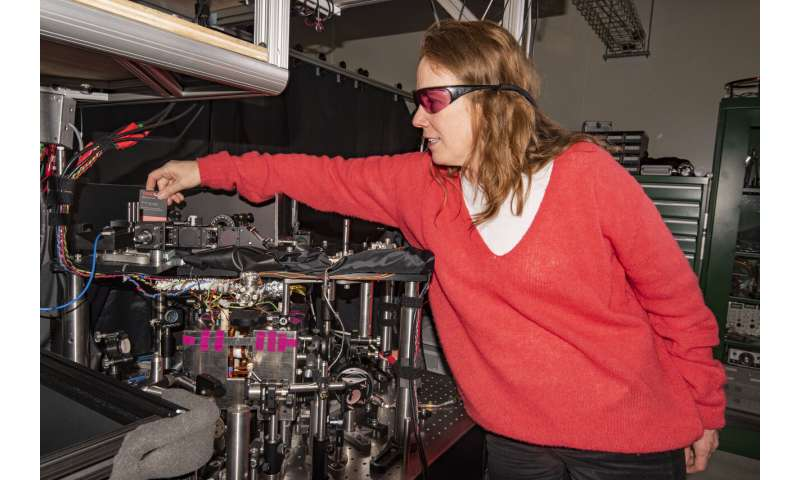 NIST's compact atomic gyroscope displays new twists
