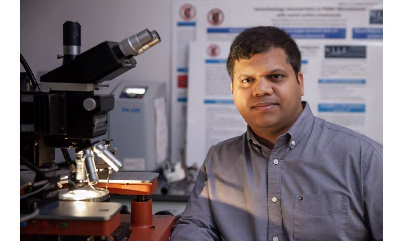 NJIT researchers detect minute levels of disease with a nanotechnology-enhanced biochip