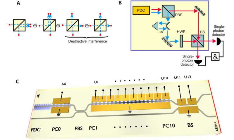 Nonlinear integrated quantum electro-optic circuits on