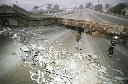 Northridge earthquake shattered Los Angeles 25 years ago