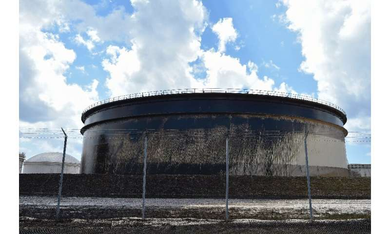 Norway's Equinor said that before Hurricane Dorian hit, nine out of 10 tanks at a Bahamas terminal had domed roofs, while afterw