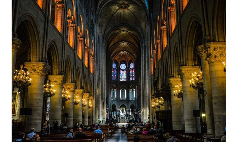 Notre Dame: Medieval stonemasons built vaulted ceilings to protect against fires