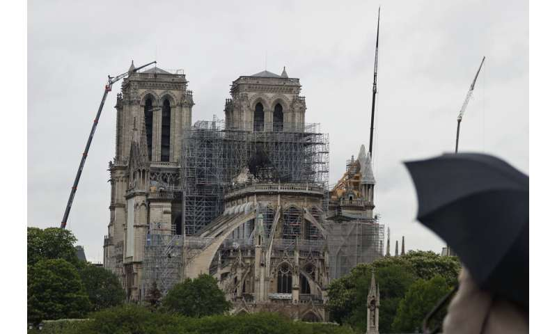 Notre Dame's melted roof leaves astronomical lead levels