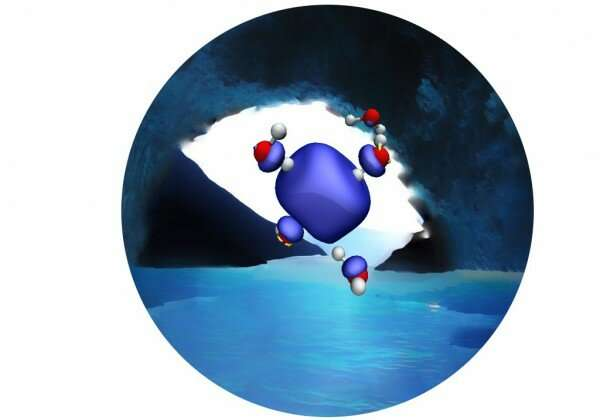 Novel MD simulation sheds light on mystery of hydrated electron's structure
