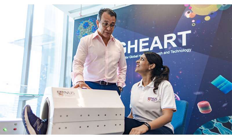 Novel medical device developed by NUS researchers harnesses magnetic field to speed up muscle recovery