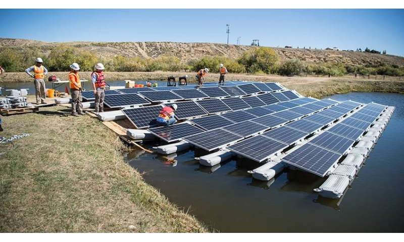 NREL details great potential for floating PV systems