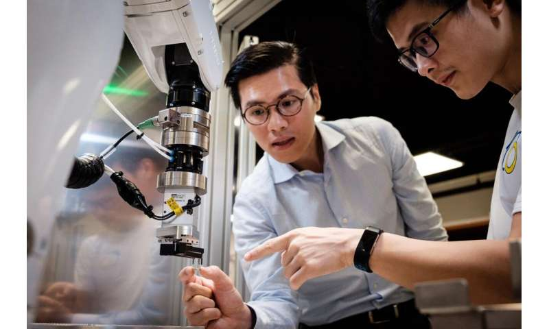 NTU Singapore start-up unveils robot with human-like dexterous grip