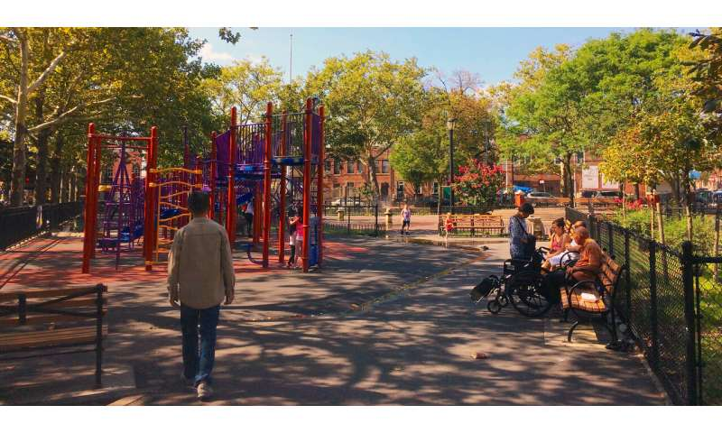 NYC park study compares crime reports, kids' park use