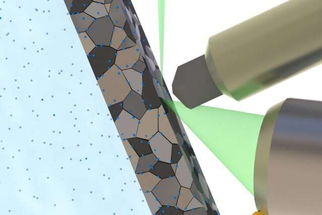 Observing hydrogen's effects in metal