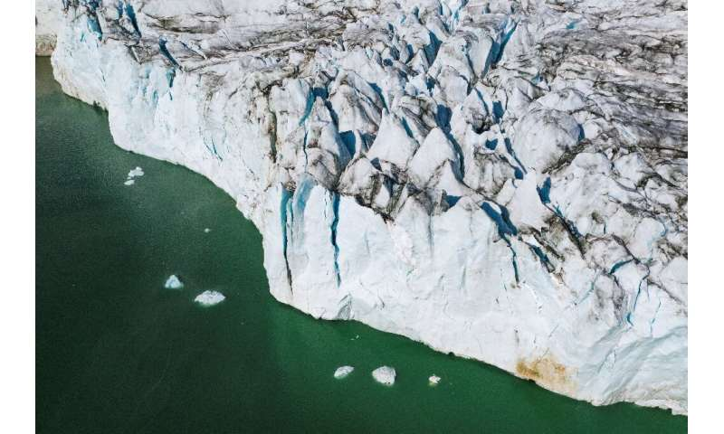 Oceans Melting Greenland is investigating how warmer layers of water off the coast come into contact with glaciers and how this