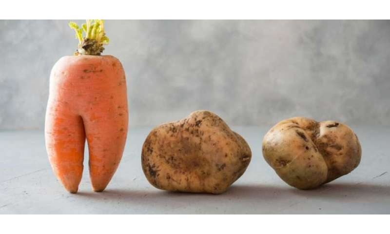 Of crooked carrots and patchy potatoes