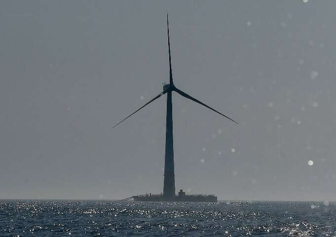 Offshore wind turbines are a type of project that 'blue finance' could be used for