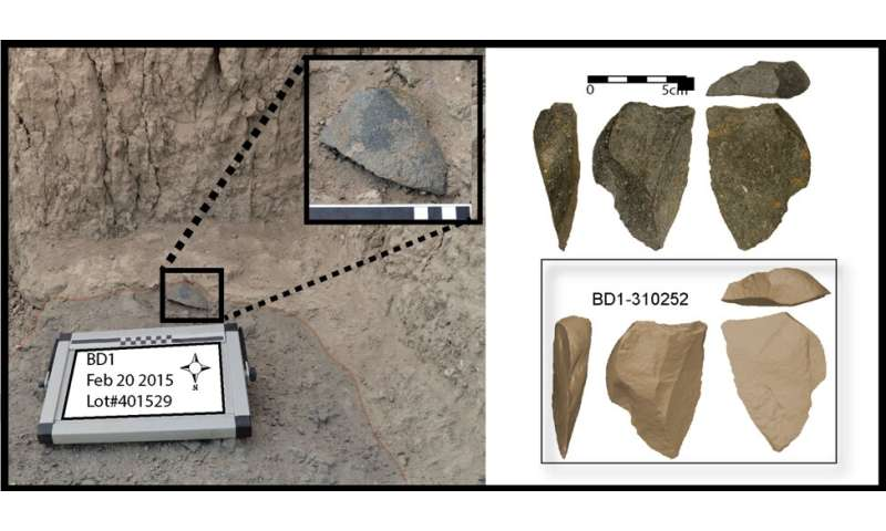 Oldest flaked stone tools point to the repeated invention of stone tools