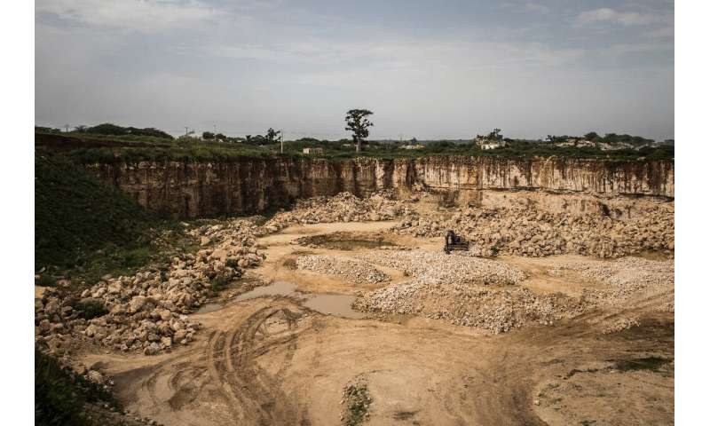 Once one of Senegal's most beautiful baobab forests, Bandia is being devoured by limestone quarries