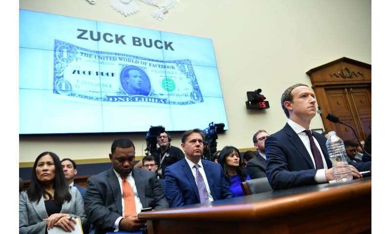 "One key lawmaker pledged to block Facebook's planned digital currency which she called the ""ZuckBuck"" as a hearing ope"