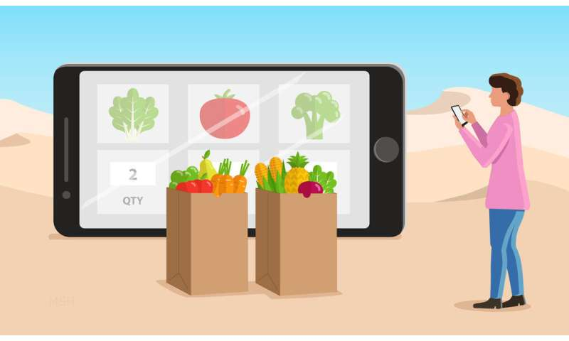 Online grocery shopping leaves 'food deserts' behind