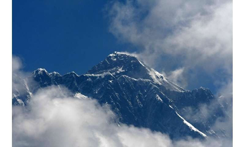 Only a short window of good weather opens every year for climbers to attempt to reach the top of Mount Everest
