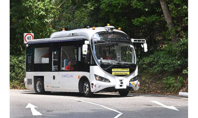 On the buses: Singapore is leading the charge for autonomous vehicles