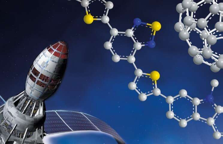 Organic solar cells will last 10 years in space