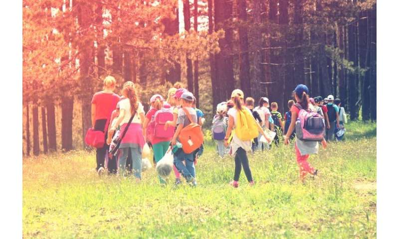 Outdoor learning has huge benefits for children and teachers — so why isn't it used in more schools?