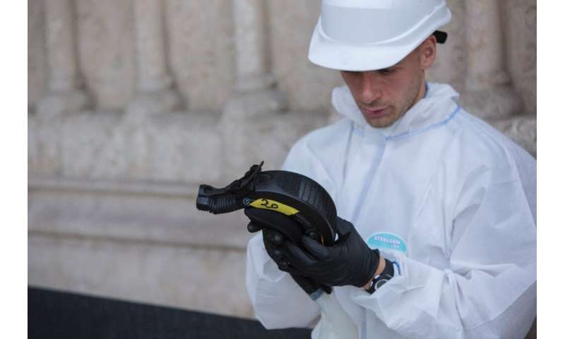 Paris Prefect Michel Cadot said strict controls should have been in place in the heavily contaminated interior of the cathedral.