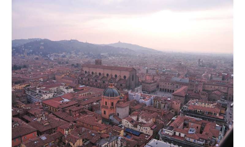 Plants and sensors are being used to help Bologna locals rediscover their city