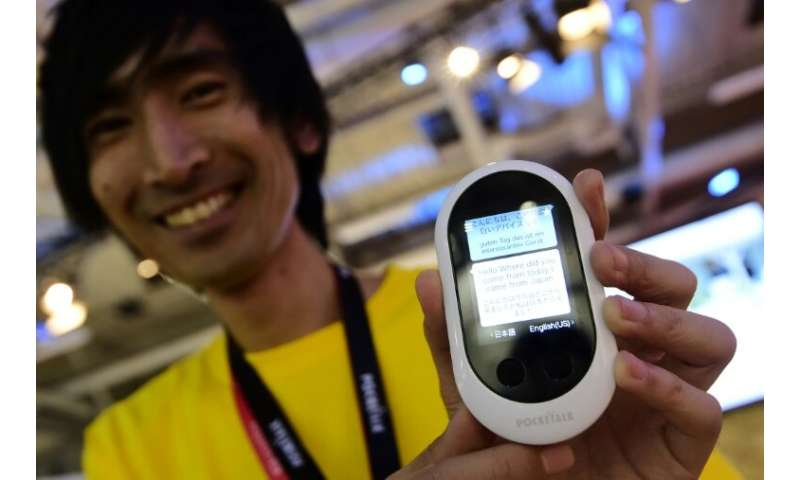 Pocketalk, which appeared reminiscent of an early-generation mobile phone, could translate 74 languages and was priced at $299