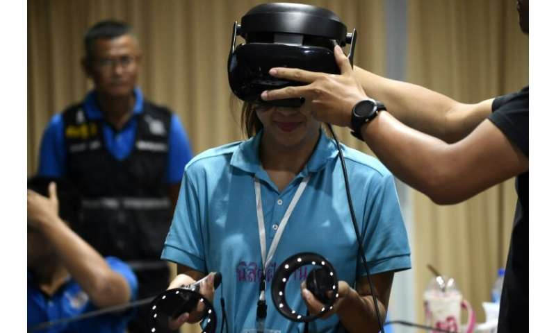 Police in Thailand are trialling a new VR game as part of disaster response training