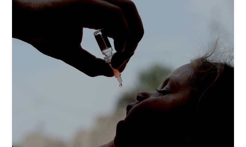 Polio is a highly infectious viral disease which has no cure and can only be prevented with several doses of oral and injectable