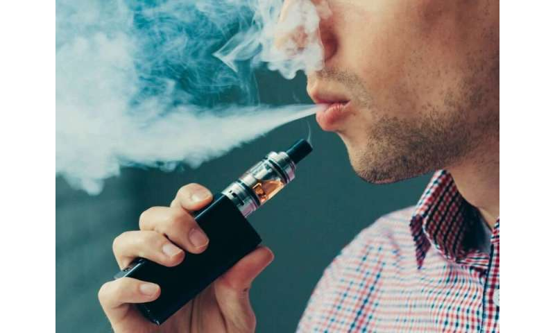 Poll: adults who vape often buy from unauthorized sellers