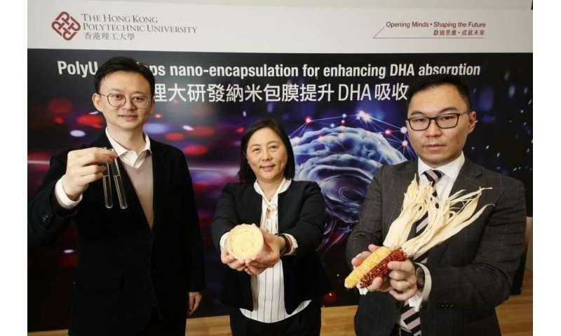 PolyU's nano-encapsulation technology enhances DHA absorption for early brain development