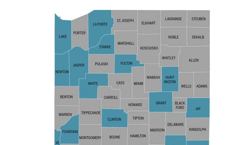 Population study finds striking disparities in health behaviors and screening in Indiana