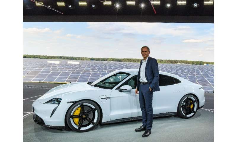 Porsche expects well-heeled clients to fork over a hefty sum for its new battery-powered Taycan model