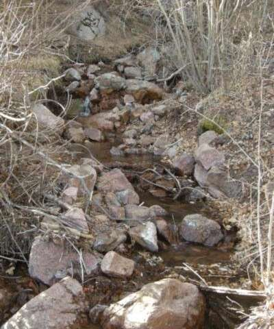 Post-wildfire step-pool streams