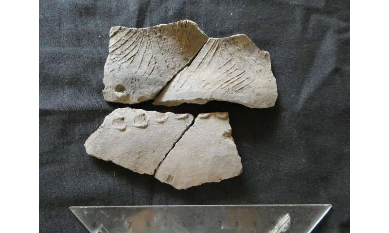 Pottery related to unknown culture was found in Ecuador