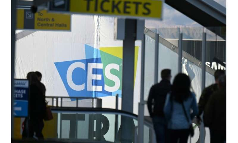Preparations are underway for the CES 2019 technology show in Las Vegas